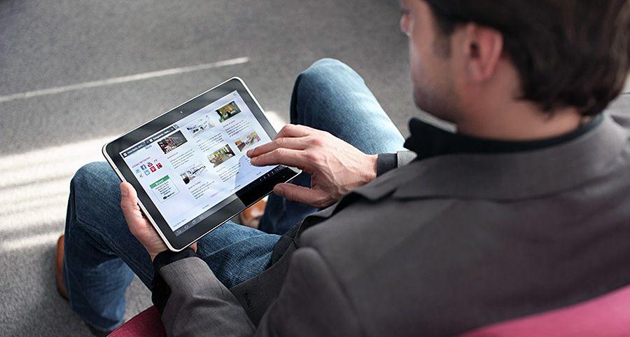 Mobile business app