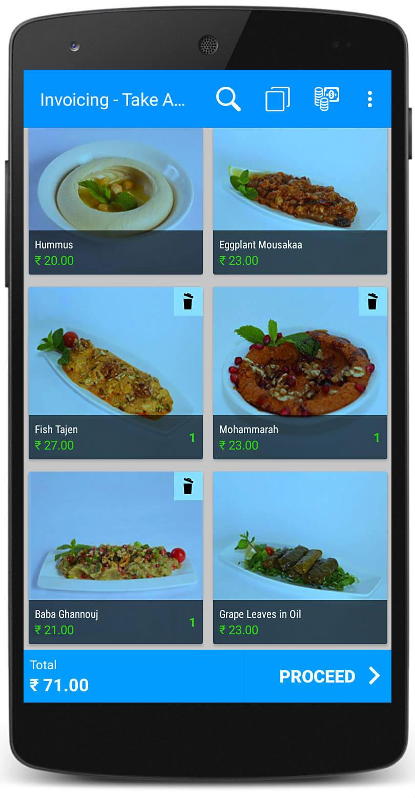 Arabic restaurant software