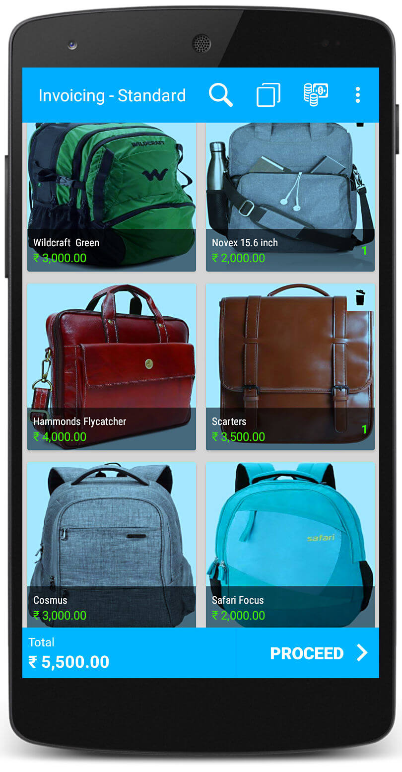 Bags Store Software